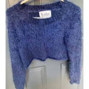 $45 on Shopify For love and lemons fuzzy sweater